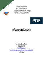 Maquinas Electricas I 0603423 Principios Basicos