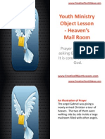 Youth Ministry Object Lesson - Heaven's Mail Room