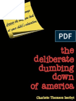 Charlotte Thomson Iserbyt, Charlotte Iserbyt-Thomson, Cynthia Weatherly, Joel Pett-The Deliberate Dumbing Down of America_ a Chronological Paper Trail-3D Research (1999)
