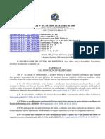 LO n. 301 - Institui o Regime de Custas, amplia o acesso à justiça, dispõe sobre a despesa forense. (1)