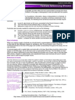 REF Traditional Footnoting