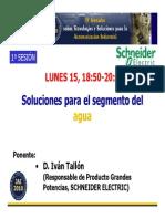 Ponencia Schneider Agua Jai2010