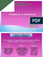 Principios de la Criminalistica. Angibell Benitez
