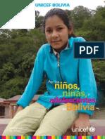 UNICEF Bolivia - Por Los Ninos Ninas y Adolescentes de Bolivia(1)