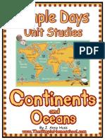 Continents Oceans Currclick2