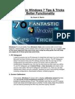 70 Fantastic Windows 7 Tips