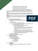 Persuasive Speech Outline1