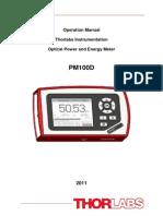 ThorLabs PM100D Manual