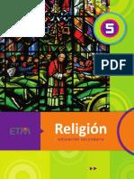 5TO - SEC - RELIGIÓN