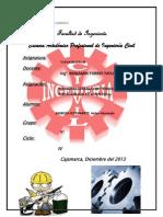 4°INFORME POLIGONAL CERRADA