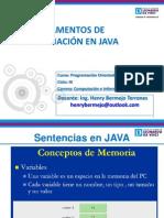 Sesion 01 u II Poo i Java