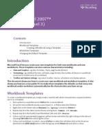 Excel Templates 2007