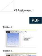 ANSYS Assignment 1