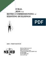 Retrocommisiioning NEBB Standard