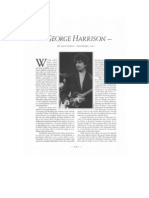 George Harrison Interview - Guitar Player Magazine