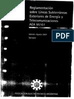 AEA 95101_2007 Lineas Subterraneas