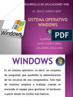 Sistema Operativo Window