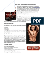 Build Lean Muscle To Improve Your Look!