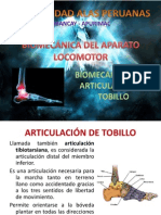 Biomecanica Tobillo y Pie