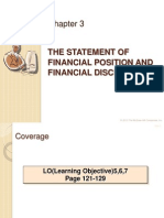 Ch 3 - The Statement of Financial Position and Financial Disclosures