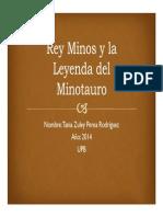 Unidad 3 Rey Minos y la Leyenda del Minotauro - Tania Perea Rodríguez