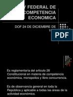 LEY FEDERAL DE COMPETENCIA ECONOMICAkmñmlmokm