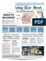 The Daily Tar Heel for March 7, 2014