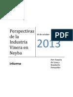 Informe Industria Vinera de Neyba