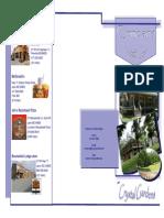 Crystal Gardens Brochure - Mk-1