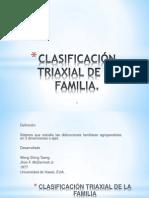 CLASIFICACIÓN TRIAXIAL DE LA FAMILIA