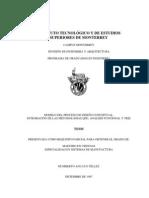 MODELO DEL PROCESO DE DISEÑO CONCEPTUAL