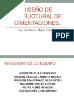 Diseño de estructural de cimentaciones