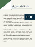 Mbok Nggak Usah Ada Neraka (Emha Ainun Nadjib, 1997)