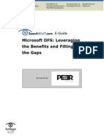 DFS Leveraging - The Benefits and Filling the Gaps