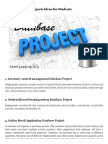 Top 18 Database Projects Ideas