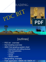 PDC Bit Dull Grading