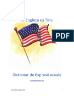 Dictionar Expresii in Limba Engleza