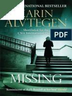 Missing Karin Alvtegen