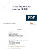 Guide for Course Registration of Springl Semester of 2014_Eng.