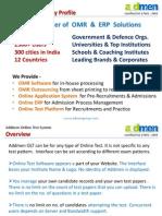 Addmen - Omr Online Test Software