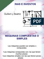 Diapositiva de Maquinas e Inventos. Jm B G