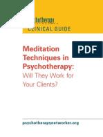 Meditation Free Report