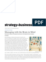 Managing With Brain in Mind - S+B