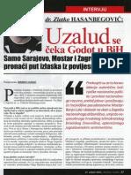 dr. Zlatko Hasanbegović - Uzalud se čeka Godot u BiH