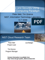 Cloud Computing NIST