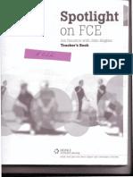 136316261 Spotlight on Fce Teacher Book
