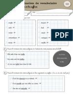 Evaluation Vocab Ce2 p1 Contraires Prc3a9fixes Suffixes