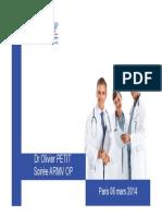Soirée retraite Dr PETIT ARMV OP 06032014