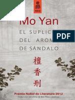 """""""El suplicio del aroma de sándalo"""", Mo Yan (Capítulo 1)"""