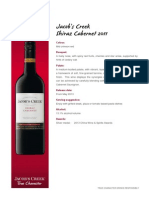jacobs creek classic shiraz cabernet 2011